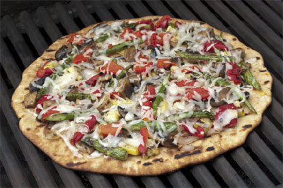 Freschetta® Grilled Pizza with Summer Vegetables